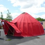 The Red Tent at Quest 2012